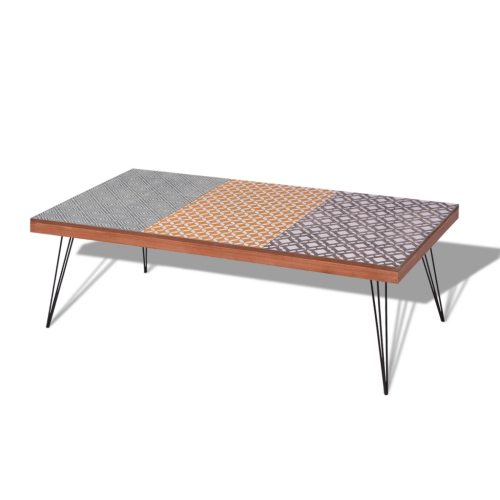 Vidaxl Coffee Table 472x236x15 Brown Products In 2019