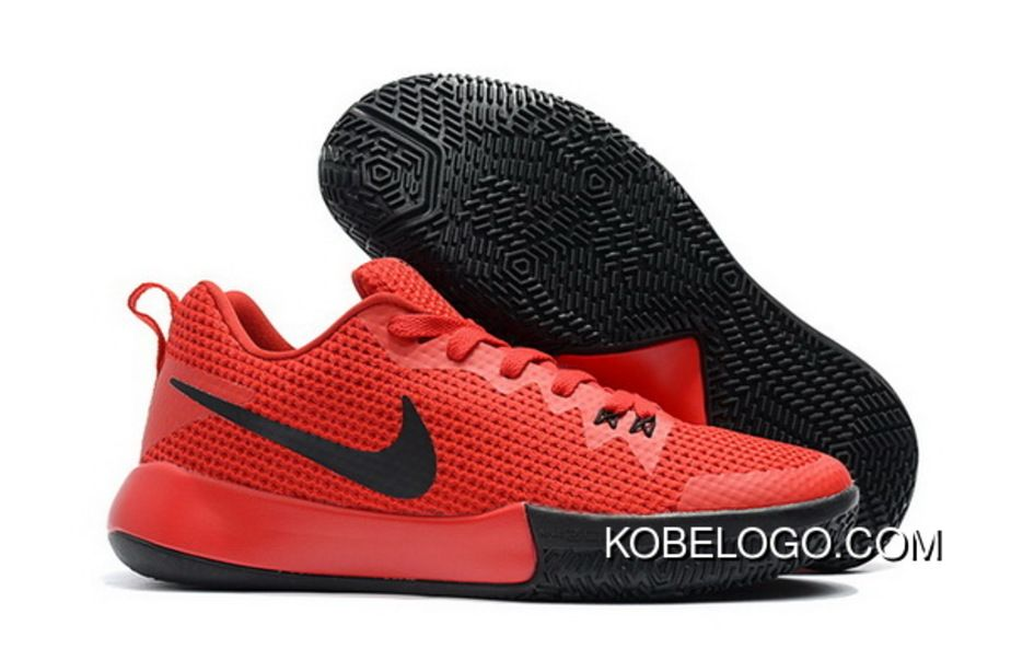 Nike Zoom Live Ii Ep University Red Black Mens Basketball Shoes Free  Shipping 3ec4839fda