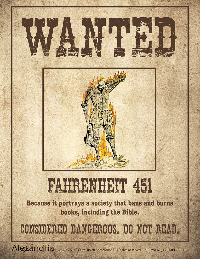 Banned Books Week Wanted Posters Book Week Books Writing