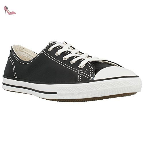 Converse - CT Fancy OX Leather - 544853C - Couleur: Noir ...