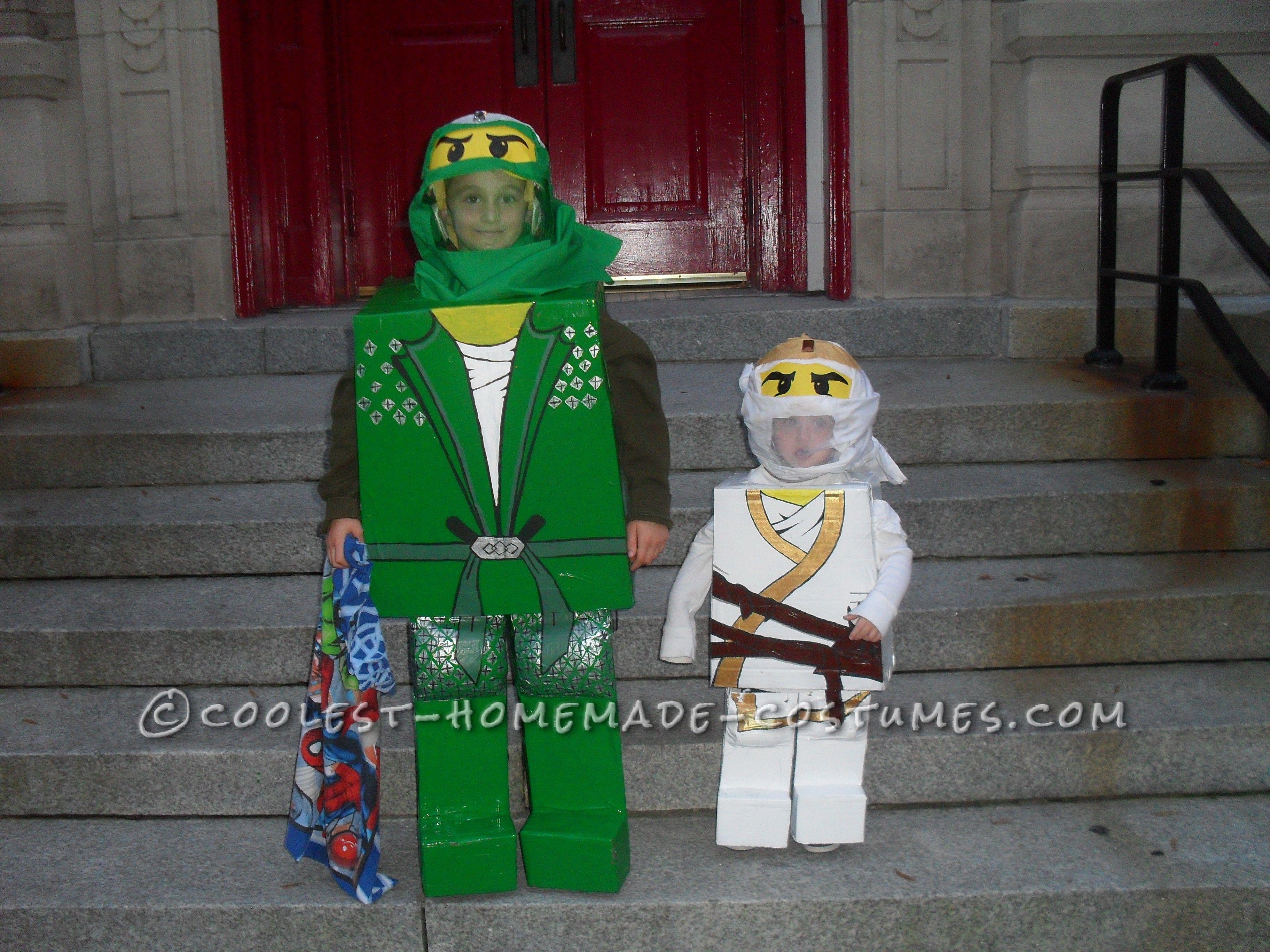 Best DIY Lego Ninjago Brothers Costumesu2026 Coolest Halloween Costume Contest  sc 1 st  Pinterest & Best DIY Lego Ninjago Brothers Costumes | Pinterest | Lego ninjago ...