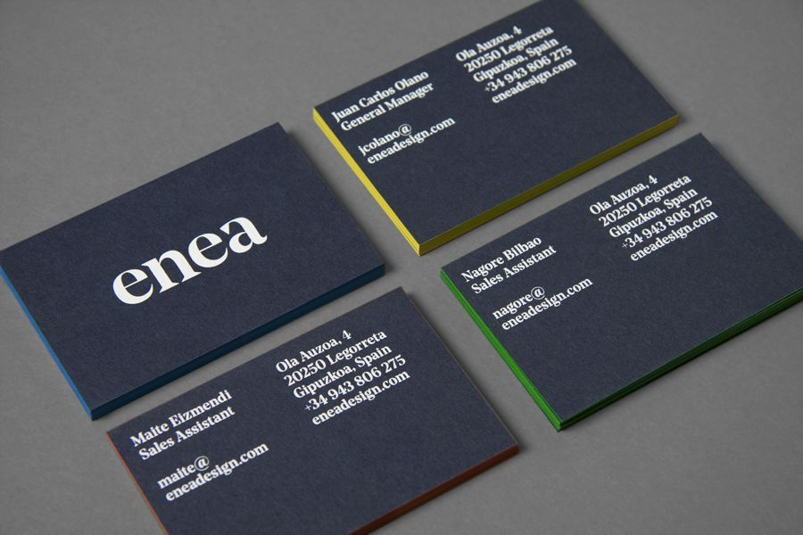 New Logo for Enea by Clase bcn — BP&O | Business cards, Business and ...