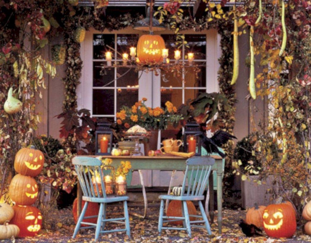 51 elegant halloween living room decoration ideas | halloween living