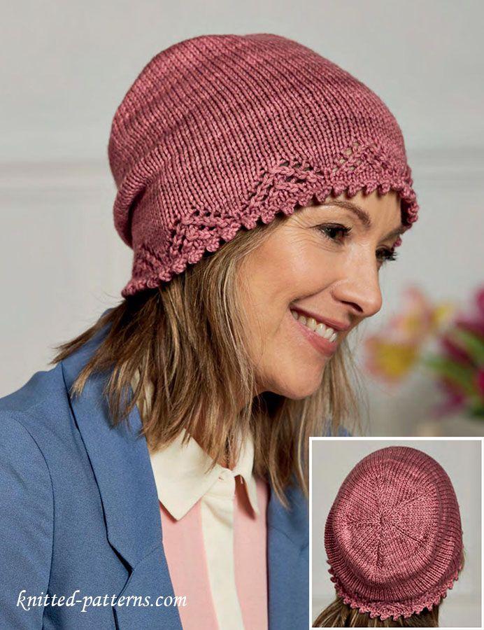 Cloche Knitting Pattern Free Free Knitting Patterns Pinterest