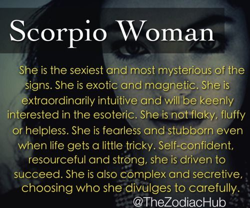 Scorpio Woman Meme