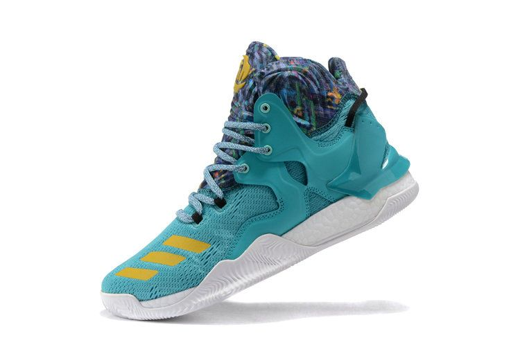 sports shoes f3130 5bd81 Free Shipping Only 69  Derrick Rose 7 VII Hyper Jade Multi Gold
