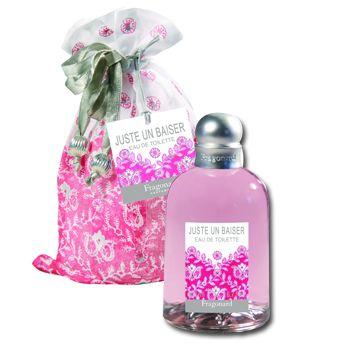 Juste Un Baiser eau de toilette by Fragonard smells like sugar,cotton candy & flowers
