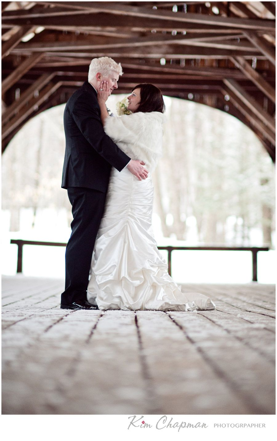 Elsbeth and David • A Sunday River Wedding • Newry, Maine • 3/22/14 » Kim Chapman Blog