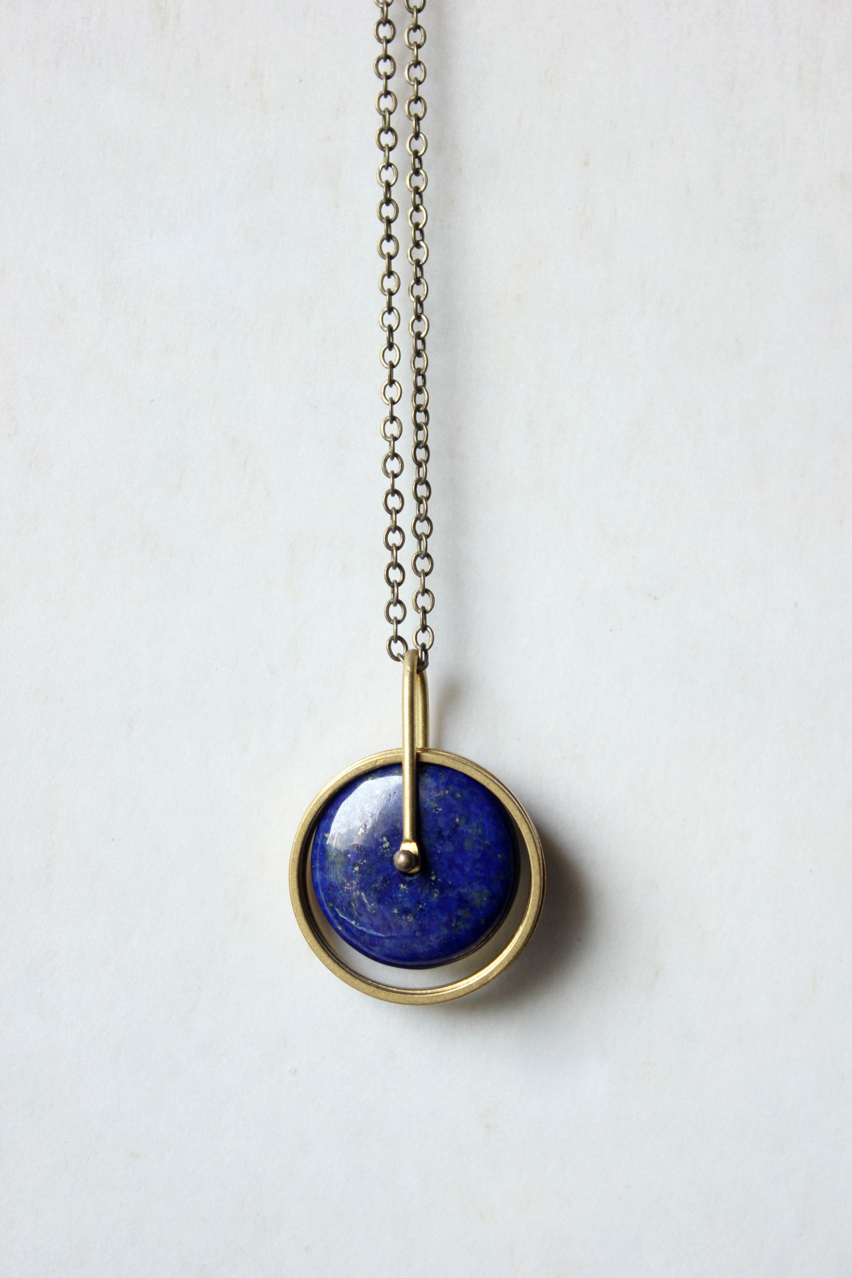 with large pendant lapis chain product lyst jewellery jewelry fine and bidermann scarab aurelie normal gold gallery