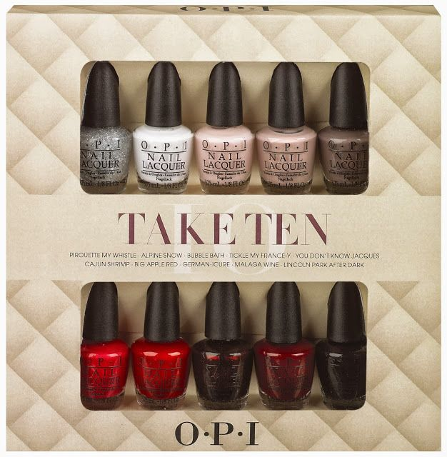Fierce Makeup And Nails Opi Announces Holiday Gift Sets For