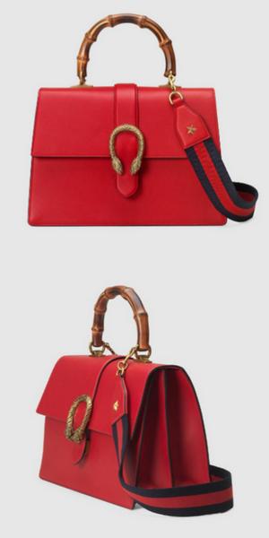 77d1b6f2866d Gucci Dionysus leather top handle bag