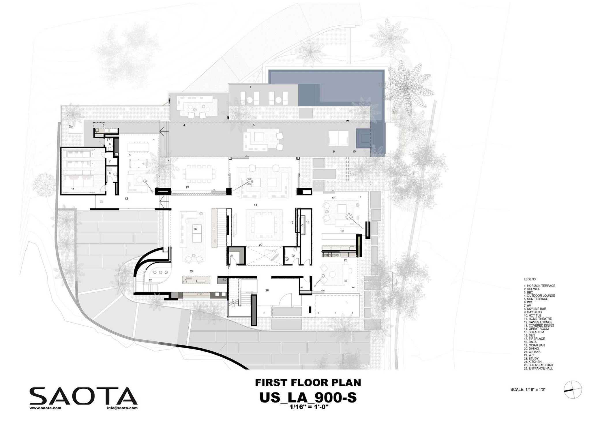 Stradella Saota Arch2o Com Floor Plans Beautiful Houses Interior How To Plan