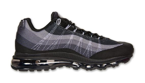 brand new f0d8b 0bf0e Nike Air Max 95 Dynamic Flywire – Black – Grey   SneakerNews.com