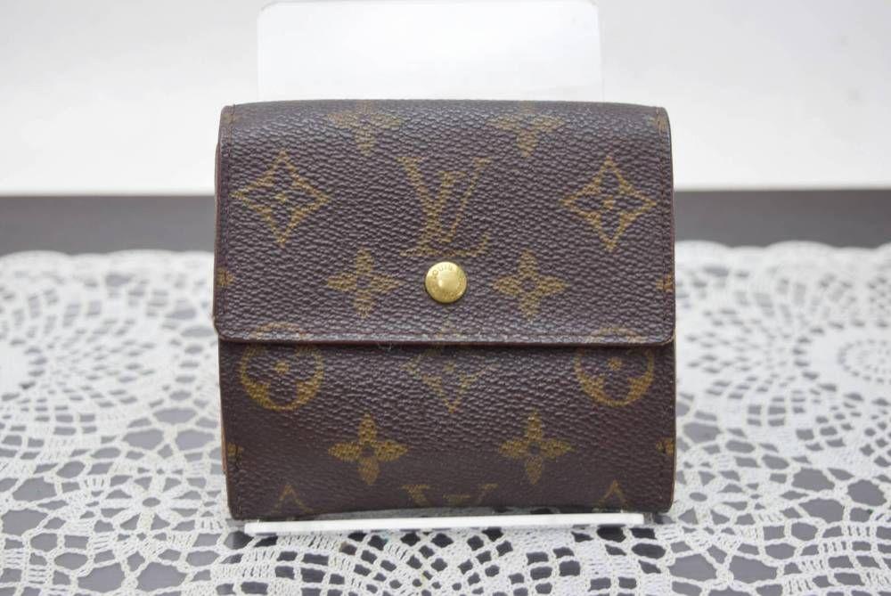 Authentic Louis Vuitton Wallet Portefeuille Elise Browns