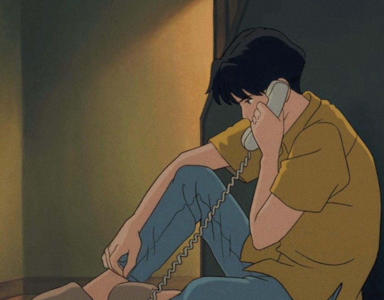 Aesthetic Anime Boy In 2020 Aesthetic Anime Anime Wallpaper Anime