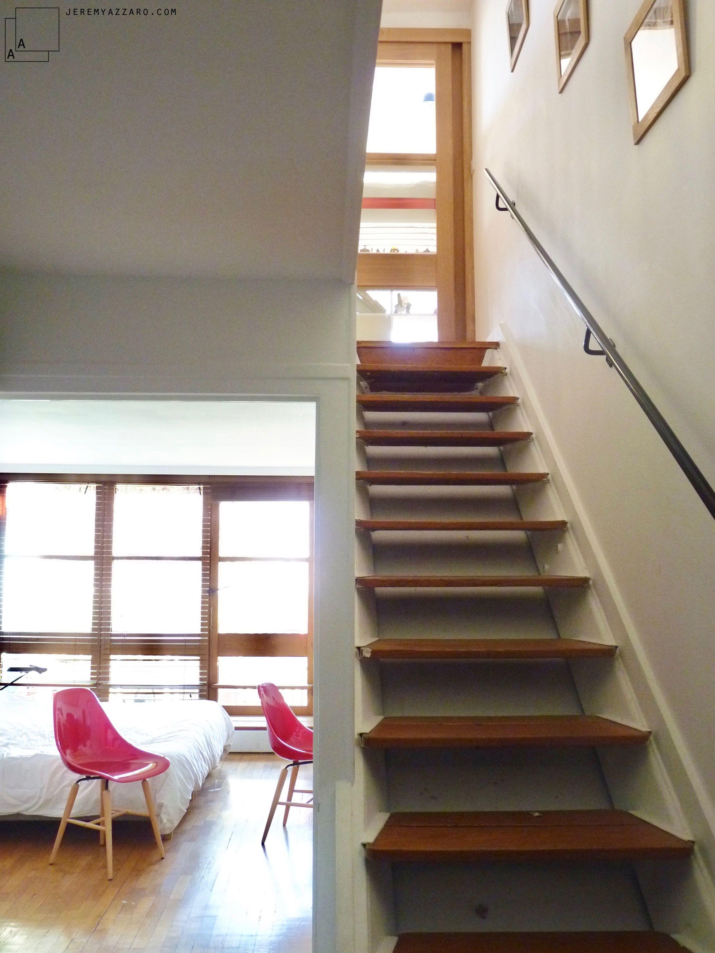 Escalier D Un Appartement Rénové De L Unité D Habitation
