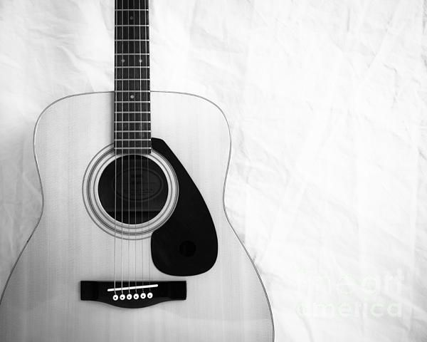 Guitar Black And White By Sonja Quintero Guitar Acoustic Guitar Case Acoustic Guitar