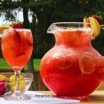 Easy Strawberry Lemonade #easylemonaderecipe
