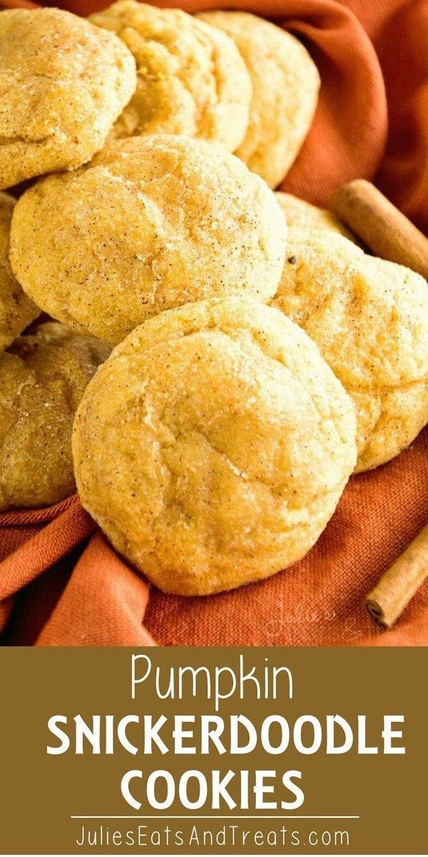 Looking for pumpkin dessert ideas for fall? Try thsis Pumpkin Snickerdoodle Cook... Looking for pumpkin dessert ideas for fall? Try thsis Pumpkin Snickerdoodle Cook...