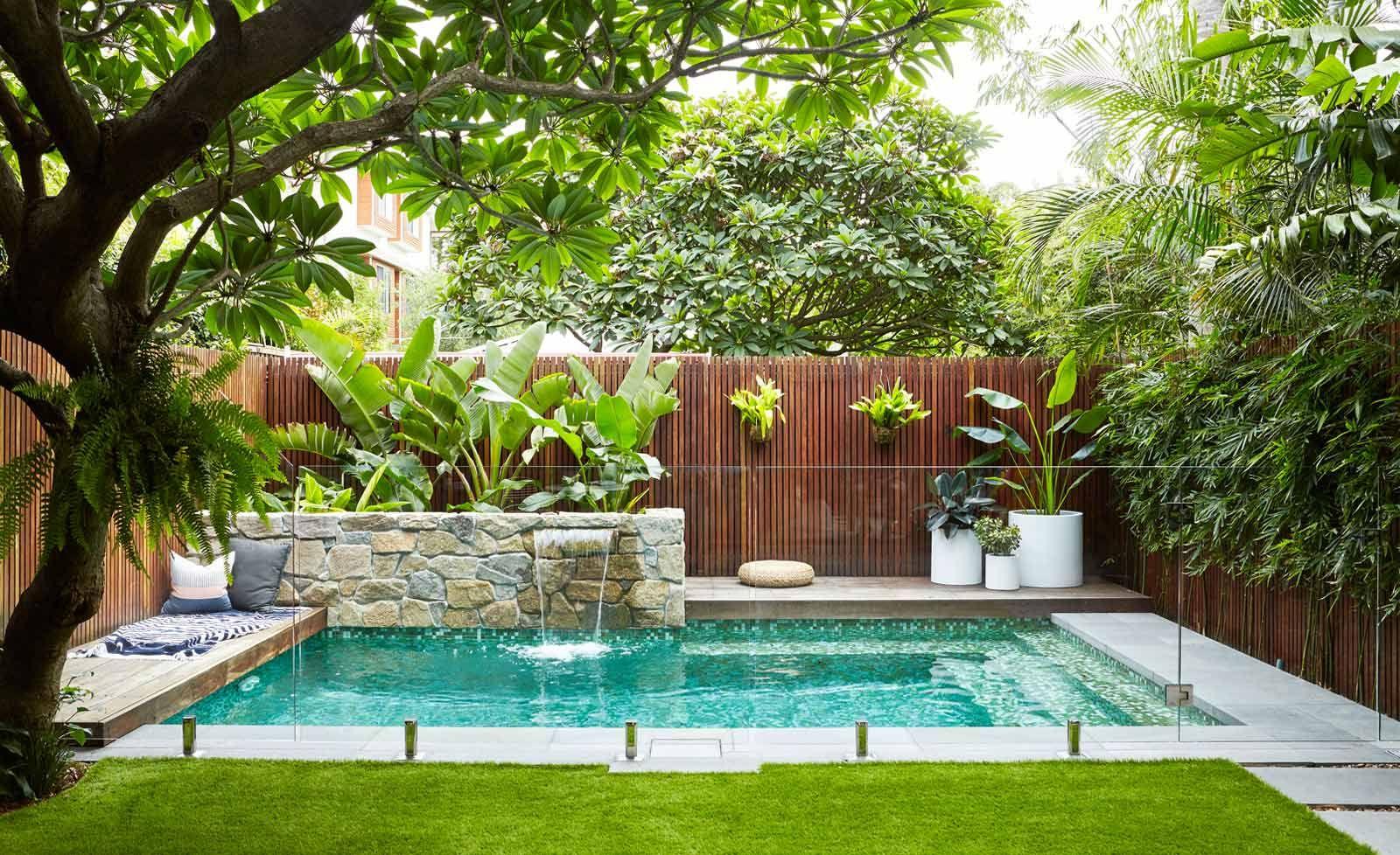 harrison landscaping pool ideas