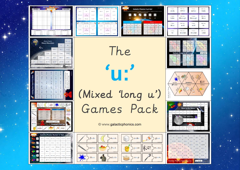 The Mixed U Long U Games Pack