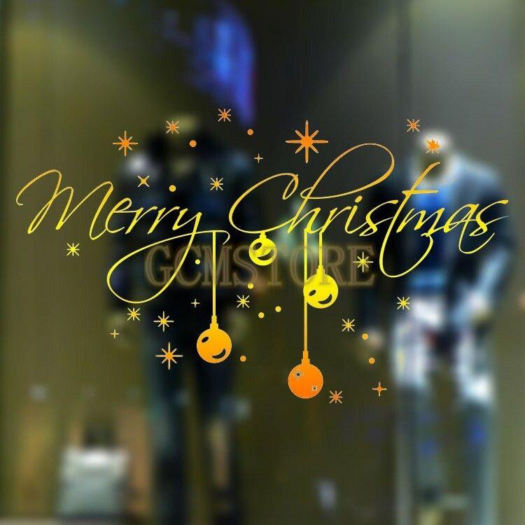 New Gold Christmas Crystal Snowflakes Light Window Showcase Wall