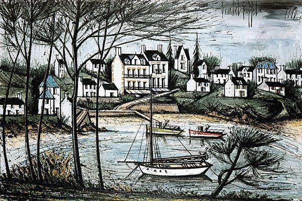 Illustrateur et peintre le fils d 39 ernest renan bernard for Buffet peintre