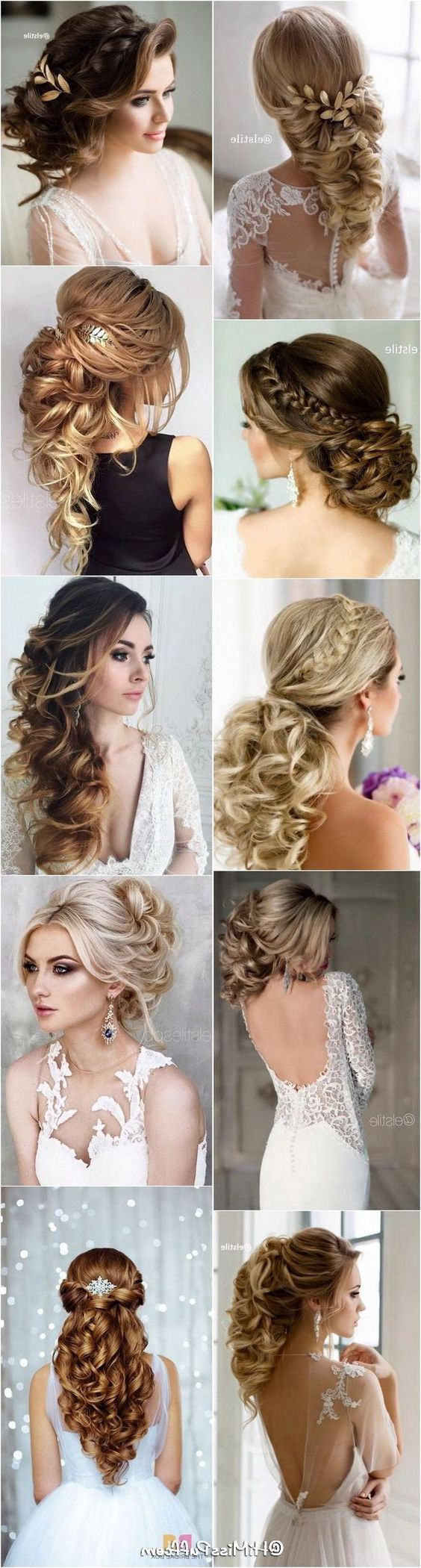 100+ Romantic Long Wedding Hairstyles 2020 – Curls, Half Up, Boho