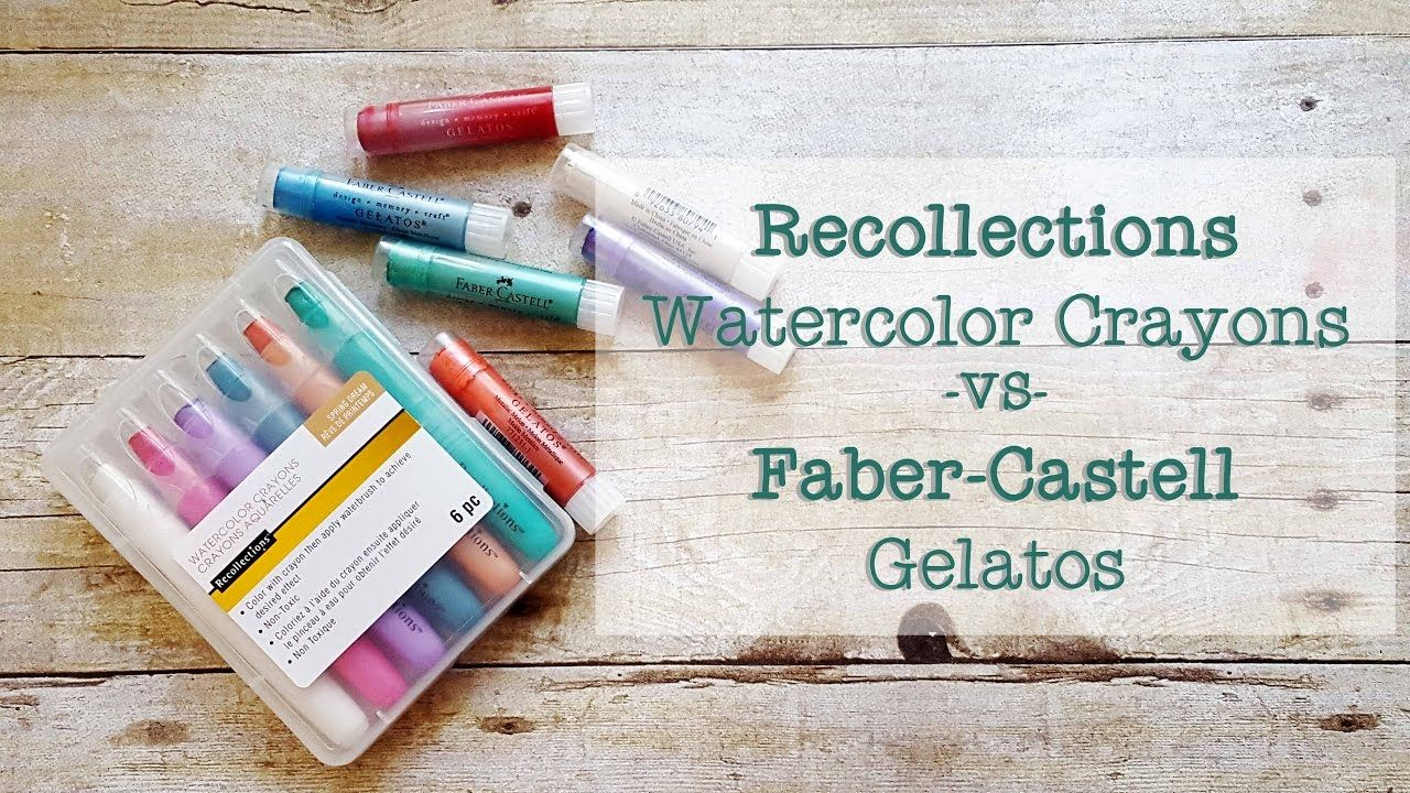 Color Splash Watercolor Crayons By Recollections Michaels In