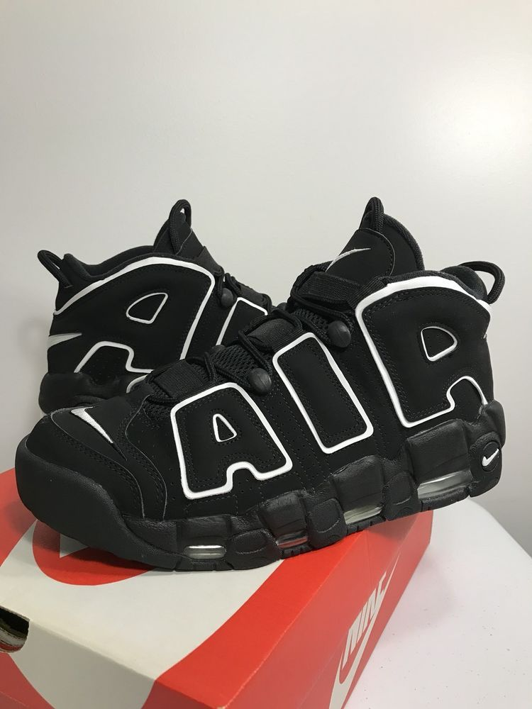 fábrica Cilios picar  Nike Air More Uptempo Black White Rare | Kicks shoes, Nike air uptempo,  Hype shoes
