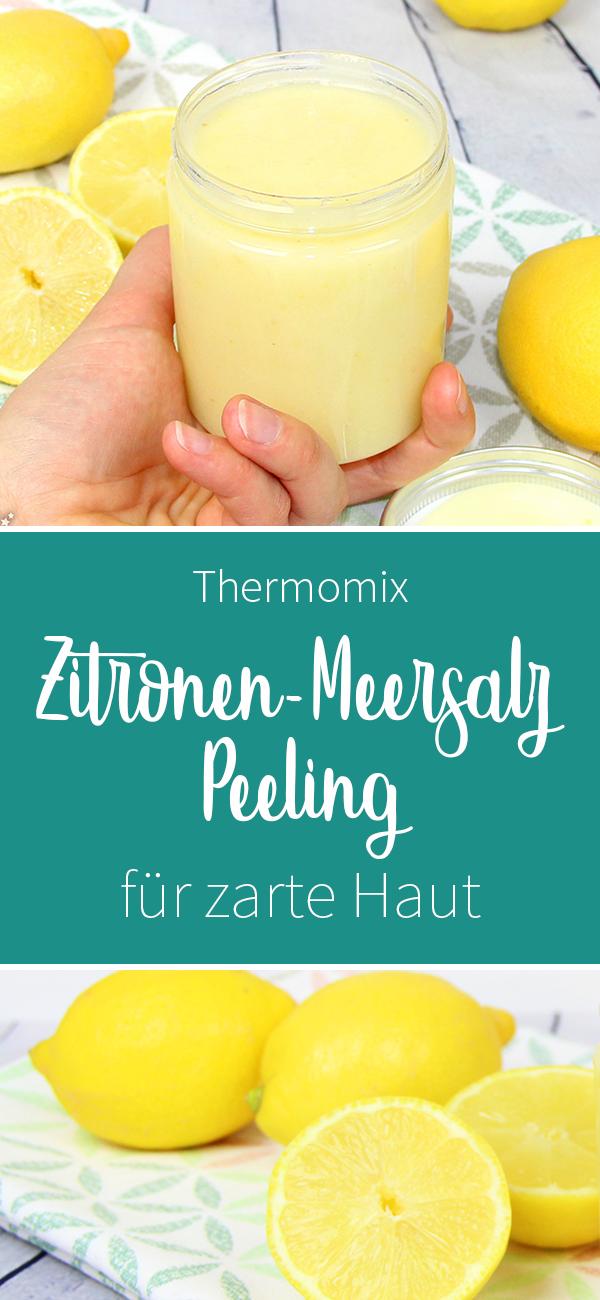Zitronen-Body-Peeling mit Meersalz #bodycare