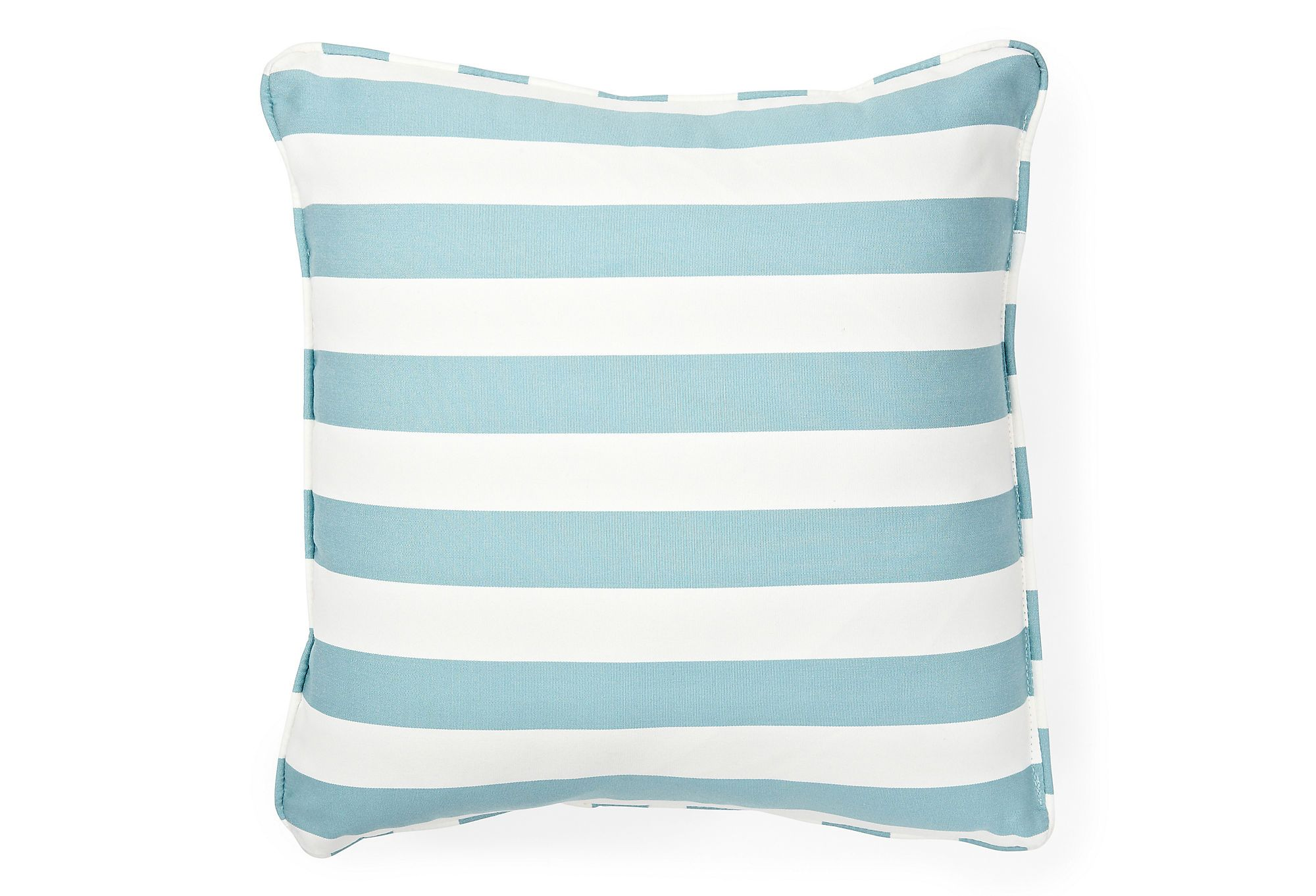 One Kings Lane - Southern Hospitality - 20x20 Outdoor Pillow, Waterworks