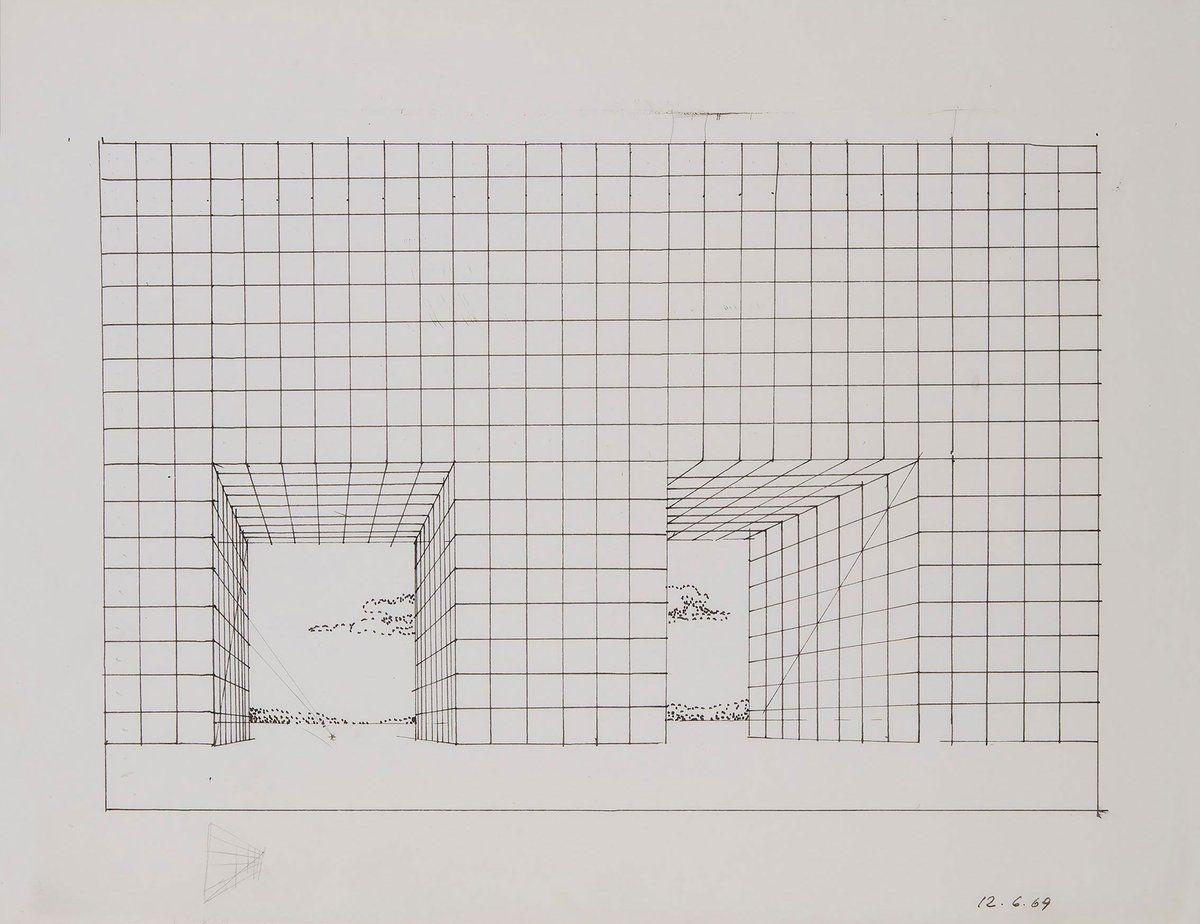 Adolfo Natalini Superstudio Sketchbook P1 Dm In Set
