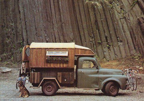 Vintage Truck Camper