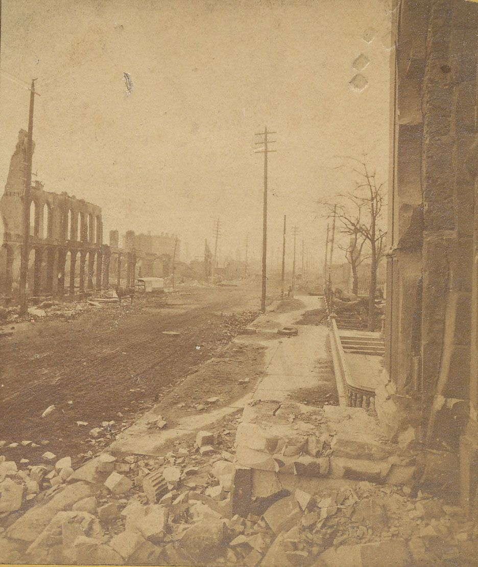 The Great Chicago Fire Of 1871 Lucas Was There When This Happened