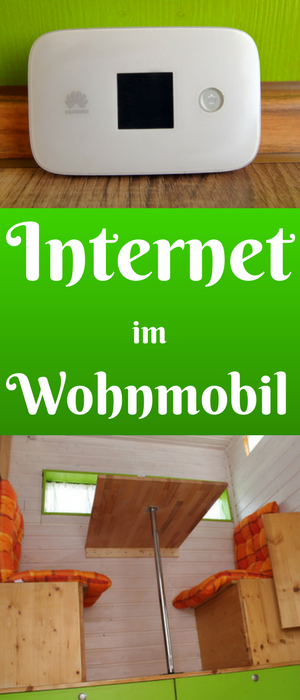 Photo of Internet in the motorhome, wireless router on the go
