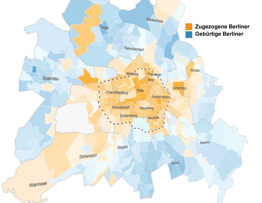 Wie Der S Bahn Ring Berlin Teilt Berlin Berlin Wall