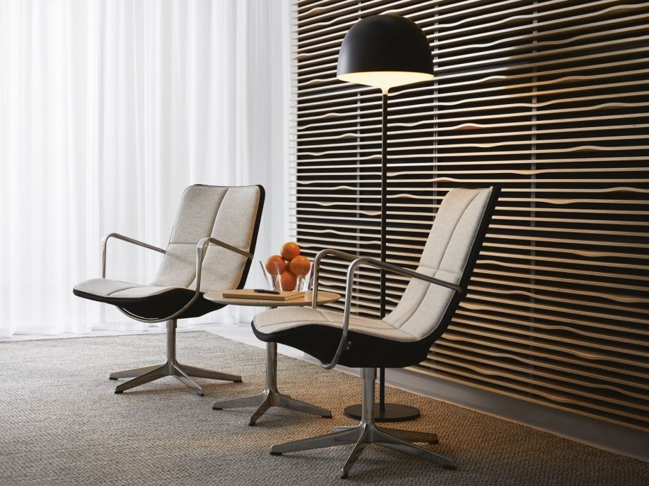 The Kite Chairs, Designed By Broberg U0026 Ridderstråle, Come In A High Lounge  Style And A Lower Meeting Style. The Latter Is Now Upgraded With A  Vertically ...