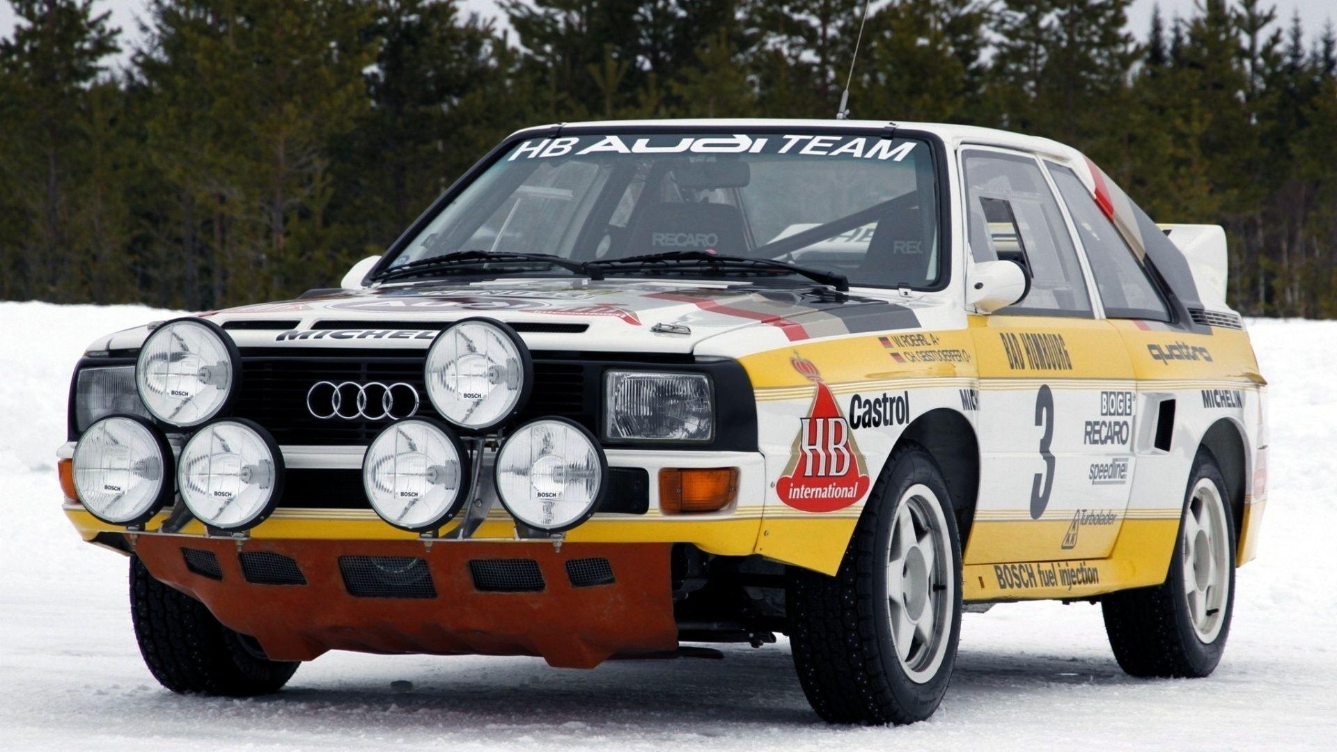 1920x1080 Group B Rally Car Audi Quatro Audi Quattro Rally Audi Sport Audi Volkswagen Auto Group