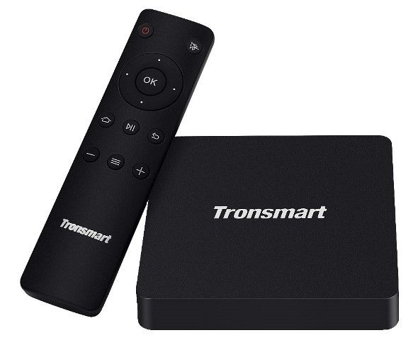 The new firmware for Tronsmart S96 TV Box with Amlogic S912