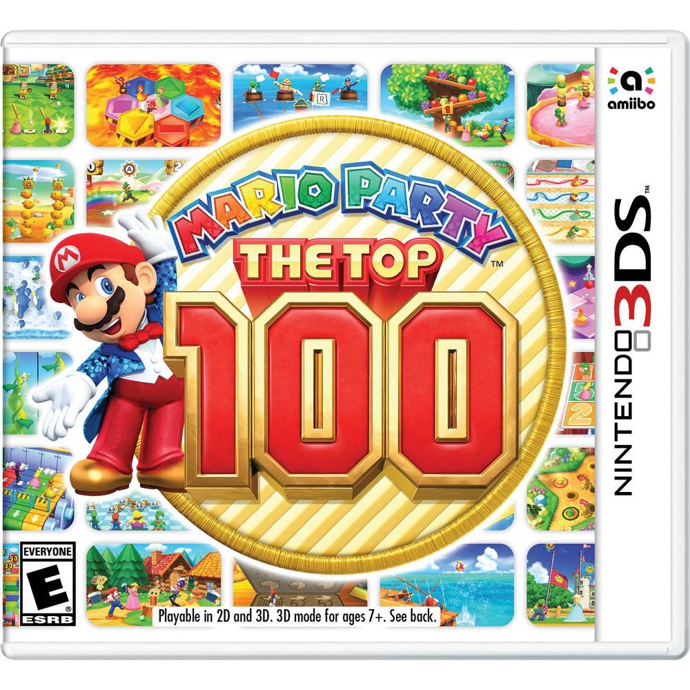 Mario Party The Top 100 Nintendo 3ds Mario Party Nintendo 3ds Mario Party Games