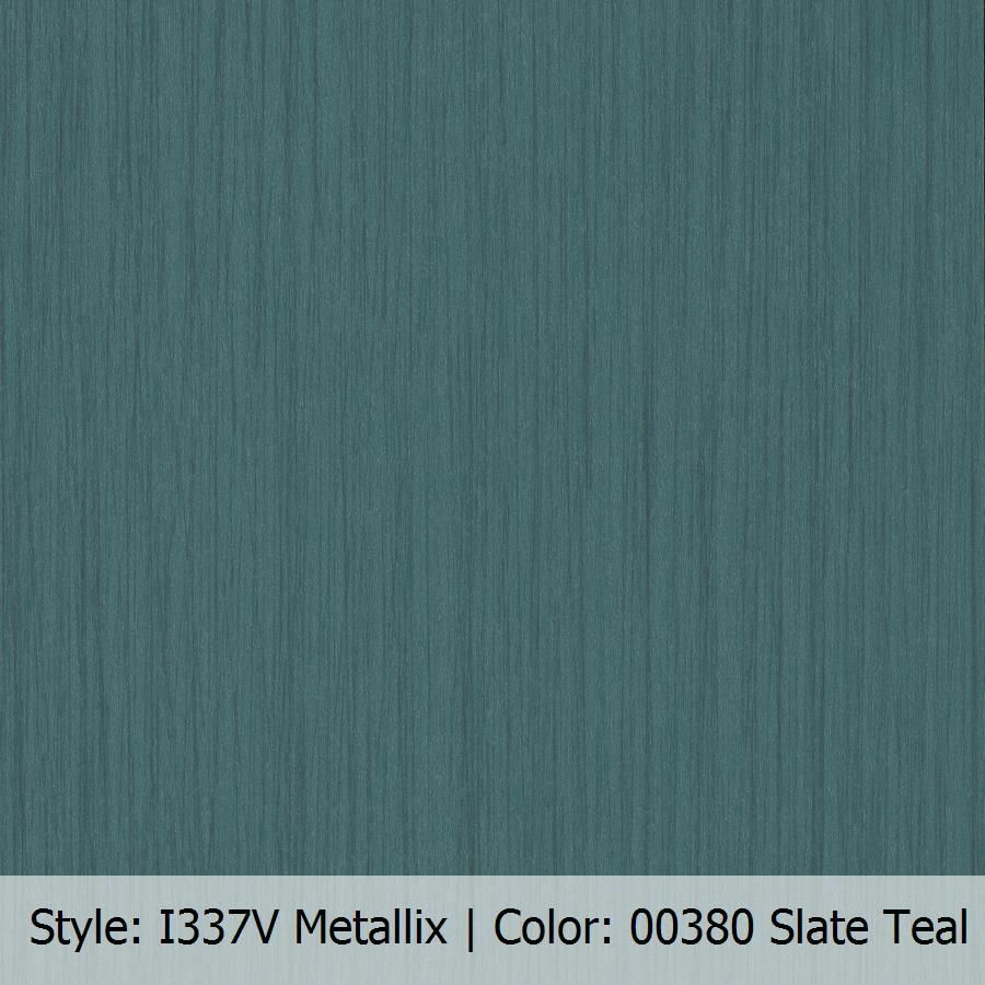 """Patcraft Metallix I314V 12"""" x 24"""" Slate Teal Loose Lay"""