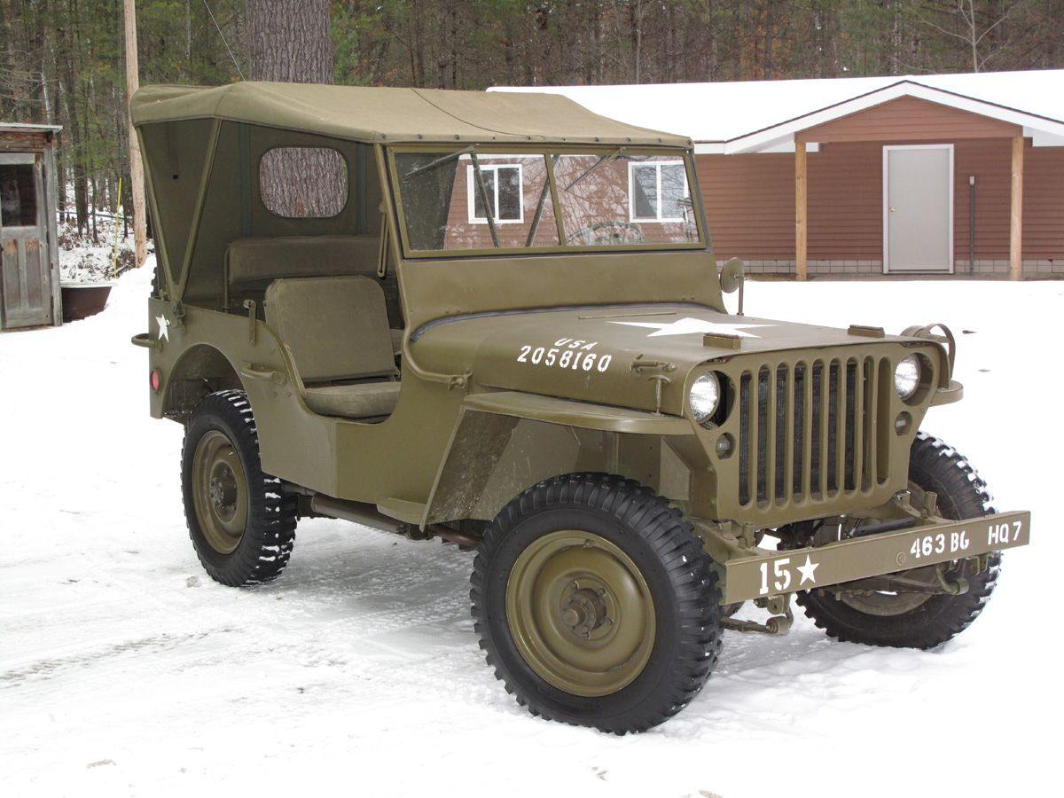 1945 willys mb jeeps other worthy vehicles. Black Bedroom Furniture Sets. Home Design Ideas