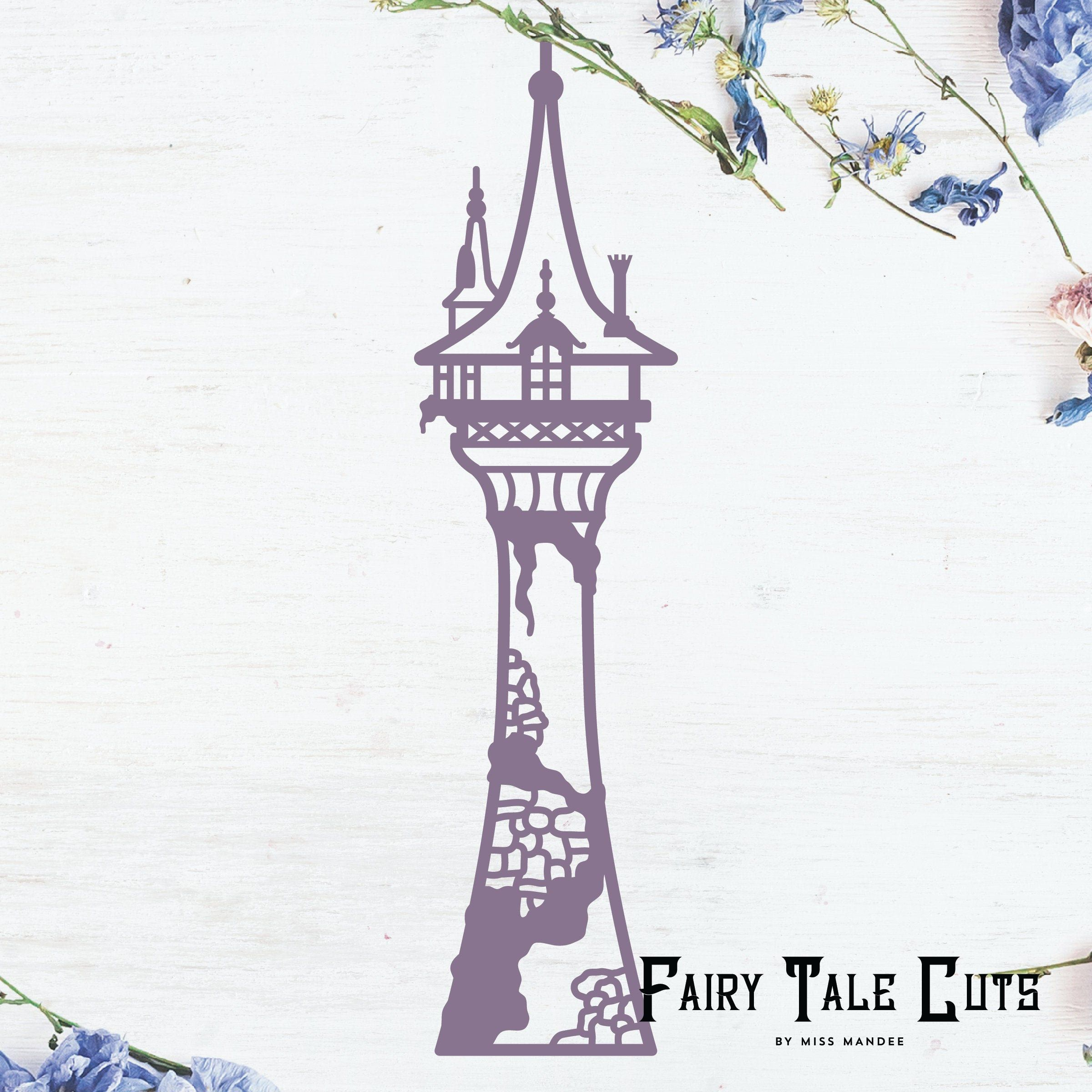 Rapunzel S Tower Tangled Inspired File Design Digital Download Svg Vector Cricut Silhouette Clip Art In 2020 Rapunzel Tower Rapunzel Drawing Disney Tangled Tattoo