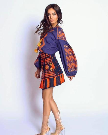 60ae73bdee424 Boho clothing ukrainian embroidery vyshyvanka blouse woman boheme Ukraine  shirt vishivanka bohemian
