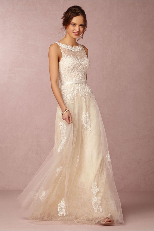 Sun-Kissed Glamour: BHLDN\'s Spring II Collection | Vestido para ...