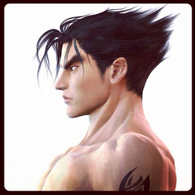 Pin By Yuria Live On Videojuegos Jin Kazama Male Face Street Fighter Tekken