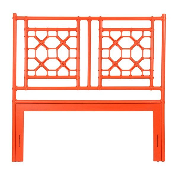 Lattice Headboard Queen   Orange(62X2X60)   Headboards   Jeffan  International