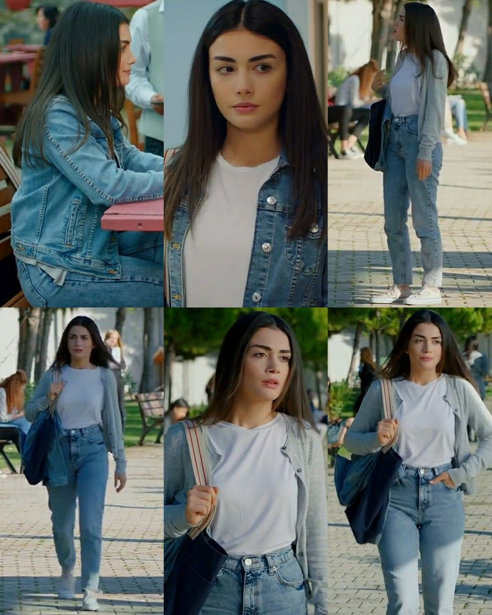 Serra 3 Episode Sol Yanim Trendy Fall Outfits Tv Show Outfits Casual Summer Outfits For Women