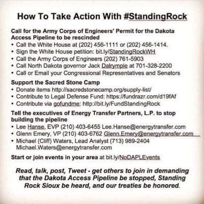 Get Involved Now Before It is Too Late #NoDAPL #StandingRock